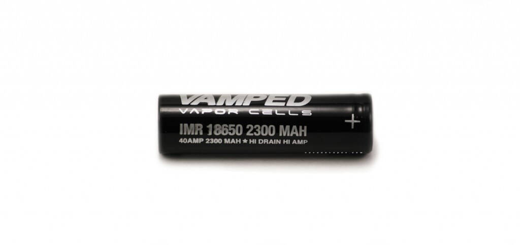 VAMPED IMR 2300MAH 40A accus pour mod