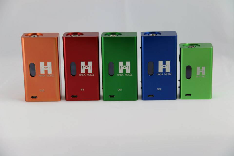 les box hana modz couleur