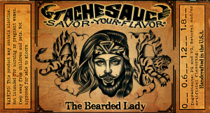 the bearded lady stache sauce e-liquide