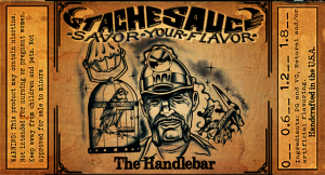 the handlebar stache sauce e-liquide