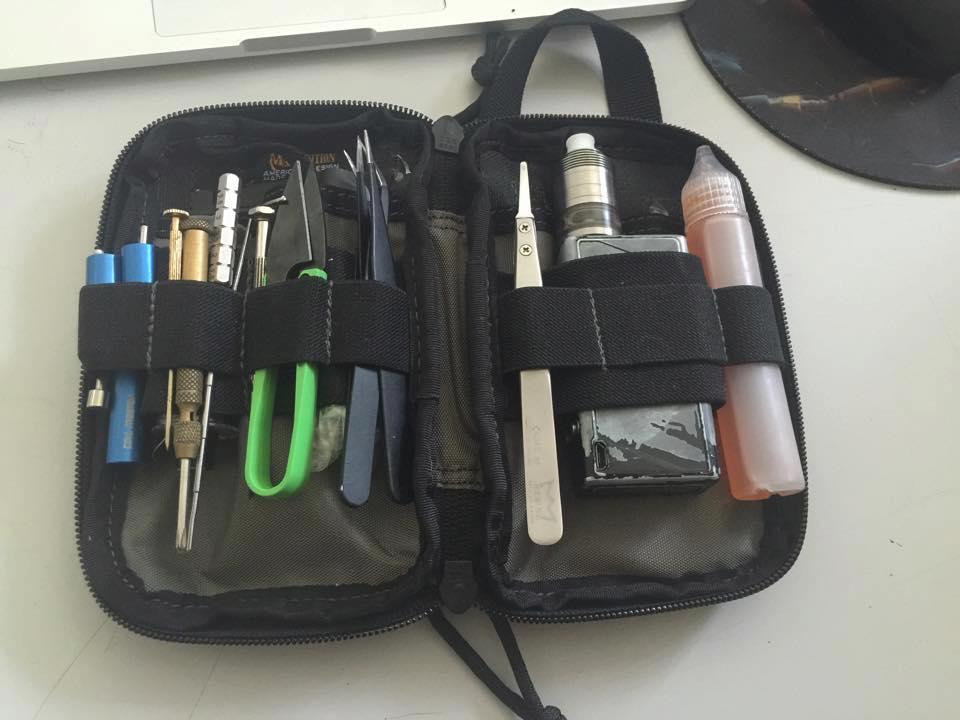 Petit concours : Partagez votre sacoche de vape !