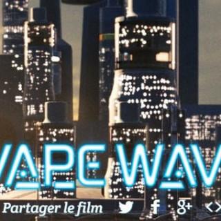 teaser de vape wave