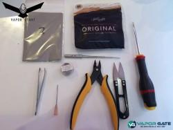 les outils pour coiler le vapor giant kronos 1.5