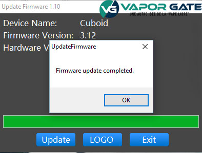 firmware completed