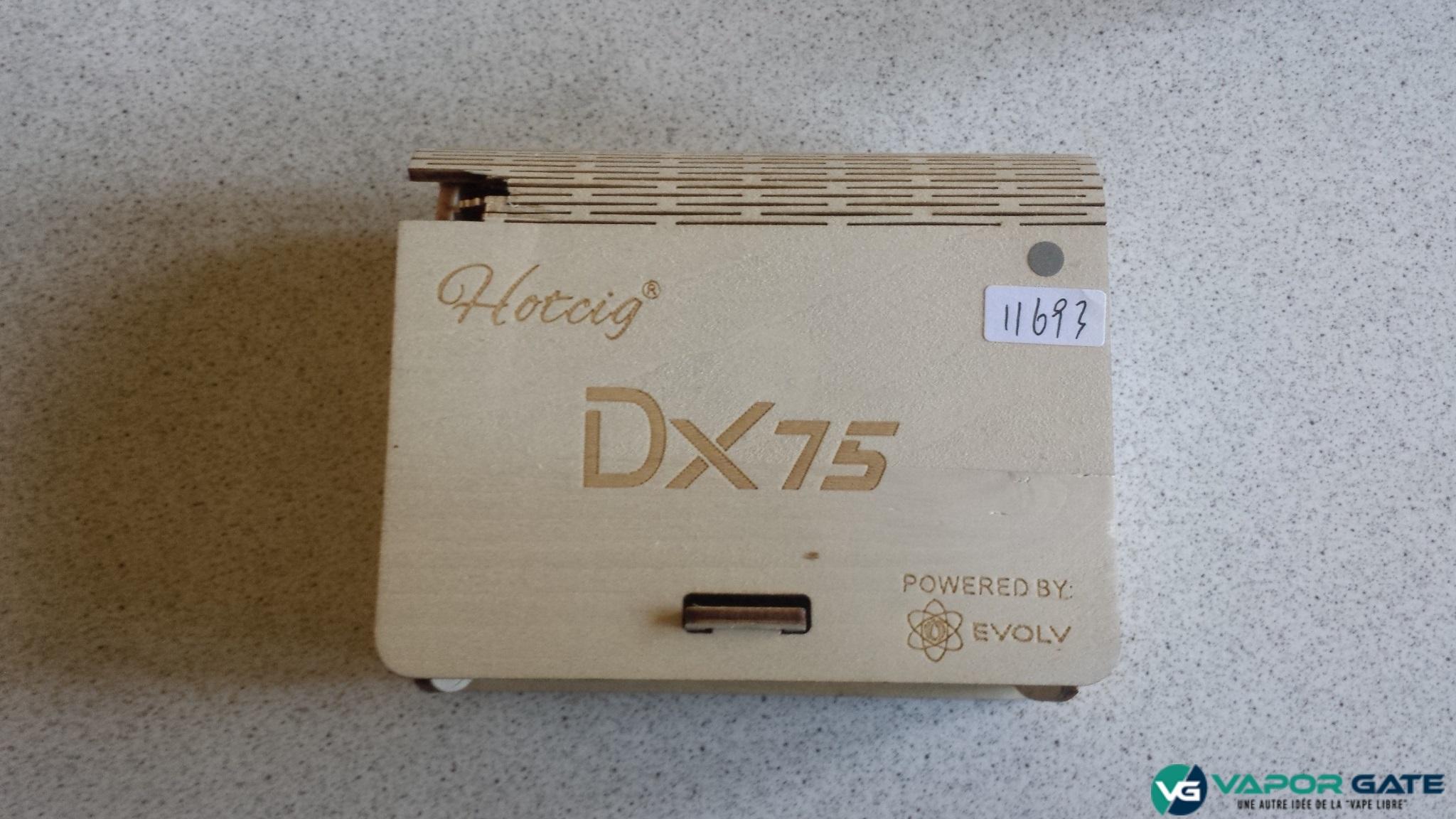 Hotcig DX75 boite