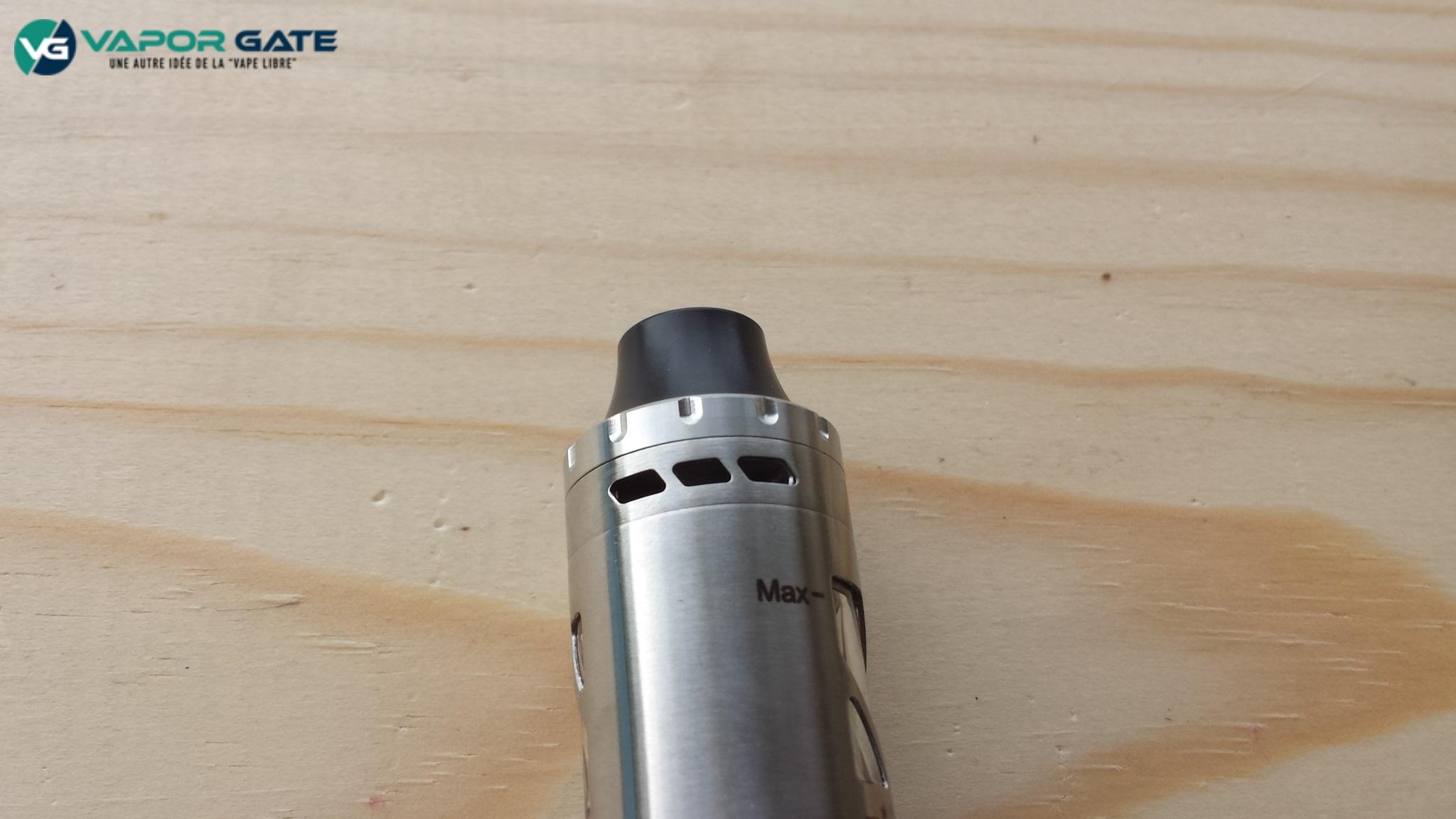 Pollux22 drip tip airflow