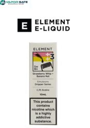Element Strawberry Whip Banana Nut