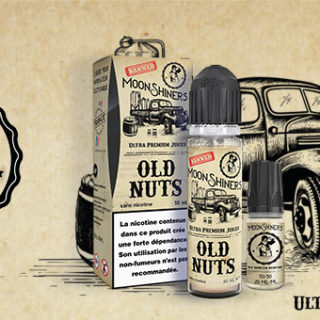 e-liquide Old Nuts par Moonshiners