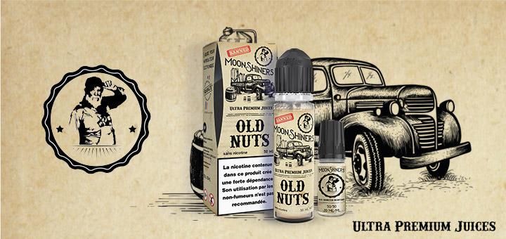 e-liquide Old Nuts par Moonshiners
